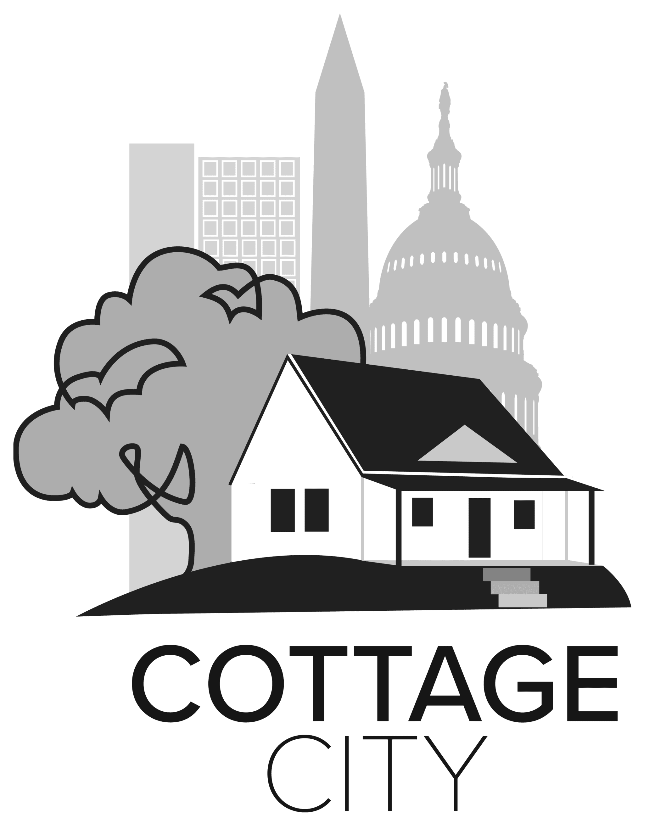 Final BW Cottage City Logo