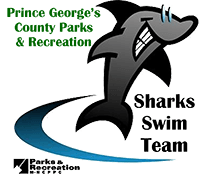 Sharks Swim Team Logo