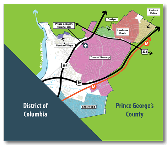 GCSP Boundary Area Map