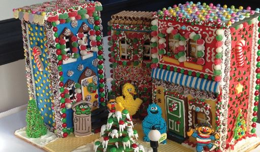 Sesame Street by Malenab Family - 1st Place and Viewer's Choice Award